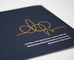 Westminister Logo Design