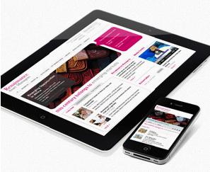 Mobile Site for Renaissance