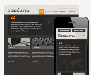 Mobile Site for Stonehaven