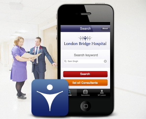 London Bridge Hospital Mobile App