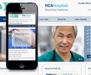 Mobile Site for Urgent Care Centre