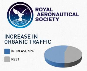Royal Aeronautical Society SEO Case Study