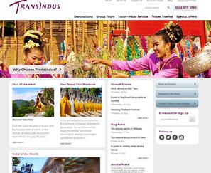 Transindus Web design
