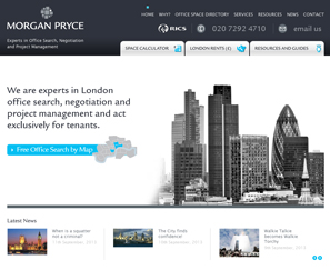 Morgan Pryce Web Design